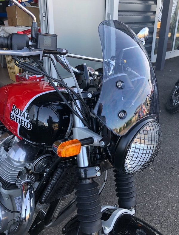 Bulle Saute vent Dart Marlin Royal Enfield Interceptor 650
