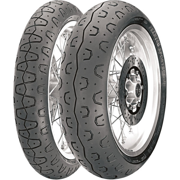 PNEU ARRIERE 130/70-18 63H PIRELLI PHANTOM ROYAL ENFIELD INTERCEPTOR 650 // CONTINENTAL GT 650